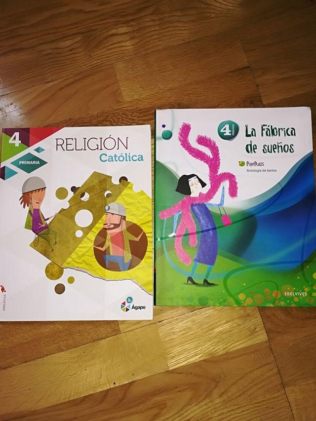Libros cuarto primaria de segunda mano por 10 € en Campo Real en ...