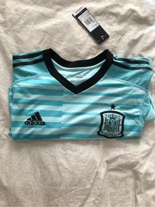Camiseta portero España