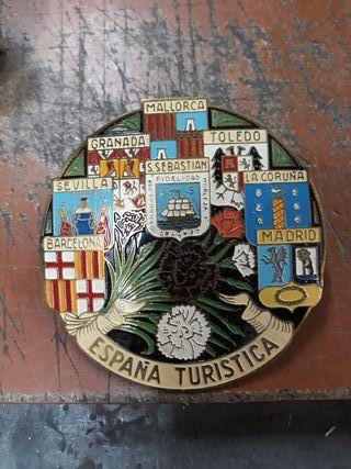 Chapa antigua España turistica