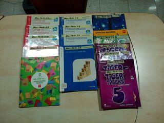 Libros de texto quinto 5° de primaria