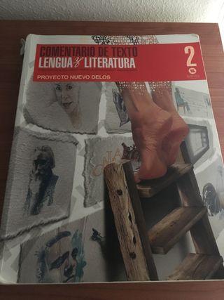 Libro lengua y literatura(2bax