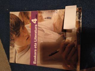 Libro 4 Eso euskera eta literatura