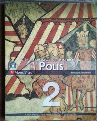 Llibre Ciències Socials, Geografia i història 2 ES