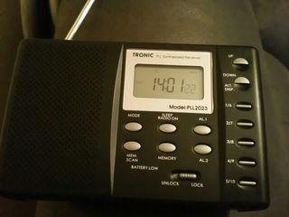 RADIO RECEPTOR DIGITAL MULTIBANDA NUEVO