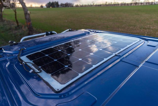Resultado de imagen de placa solar camper