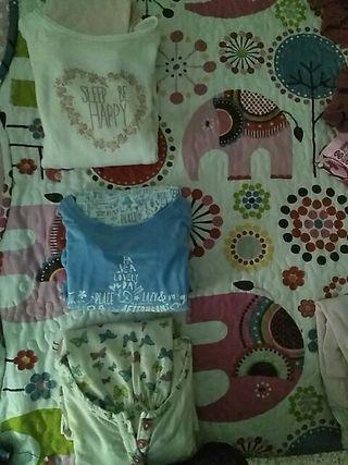 pijamas m/l. estampados niña talla 4