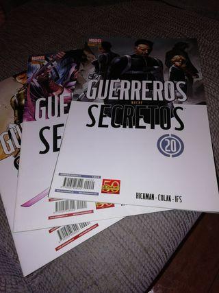 """Cómics """"Guerreros secretos"""""""