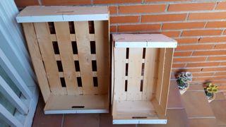 cajas de manualidades nuevas...sin tratar