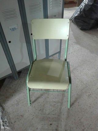 sillas de colegio
