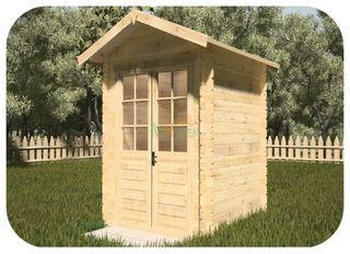 Caseta Jardin Mery 220x220cm