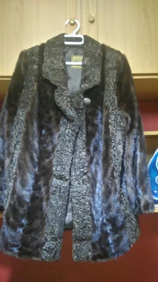 Abrigo vison talla 42-44