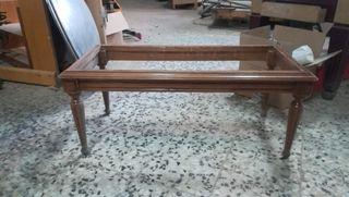 Mesa de madera de centro