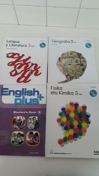 Libros de texto DBH 3