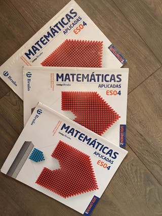 Libros Matemáticas Aplicadas 4 eso