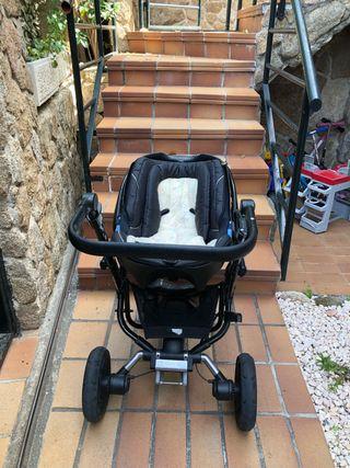 cuco, grupo 0, y silla de fibra de carbono.