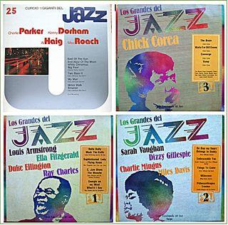 4 discos vinilo de JAZZ