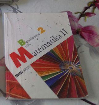 Libro Matematicas 2ºde Bachillerato
