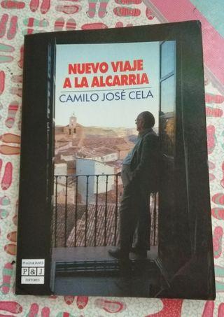 """Libro """"Nuevo viaje a la alcarria"""""""