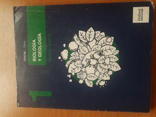 Libro Biologia y geología 1°Bachillerati