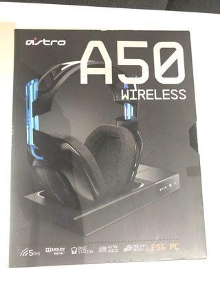 Astro A50 wireless (ps4 y pc)