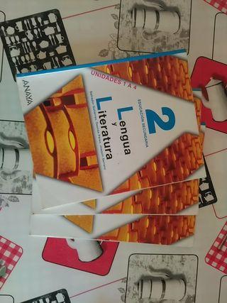 Libros Lengua y Literatura 2 de la eso