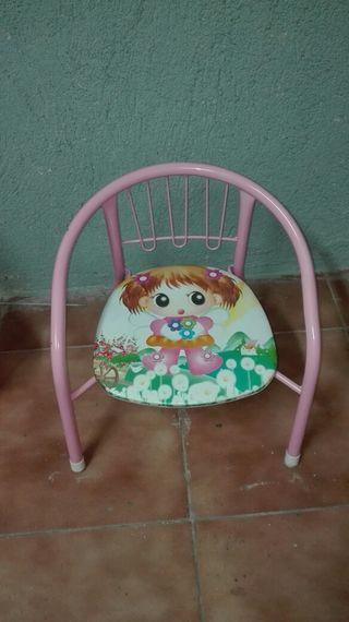 silla de niña