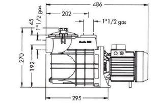 Bomba Qp BRAVIA 1 HP 230V