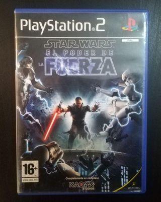 STAR WARS EL PODER DE LA FUERZA (PS2)
