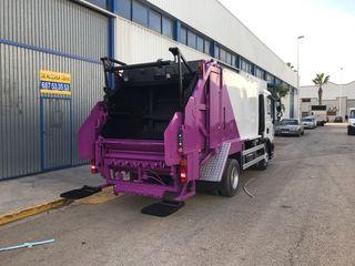 Chapa y pintura vehiculos industriales