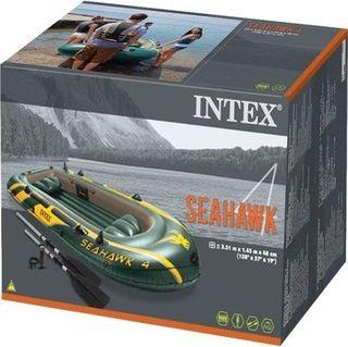 Barca hinchable Seahawk 4 (bomba y remos incluidos