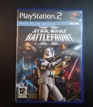 STAR WARS BATTLEFRONT 2 (PS2) NUEVO