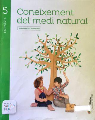 Libre Coneixement medi Santillana 5 primaria
