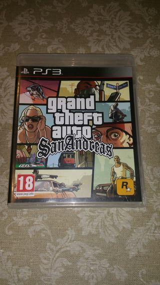 Juego ps3 Grand Theft Auto San Andreas
