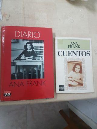 libros Ana Frank
