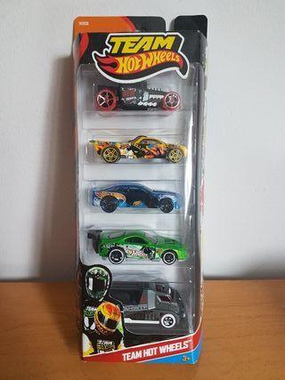 lote Team Hot Wheels