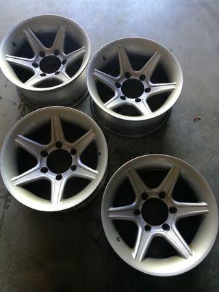 4 llantas aluminio 4x4 R15