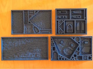 Moldes Scenery Forge