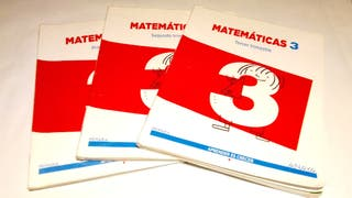 Matemáticas 3 ANAYA