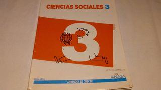 Ciencias sociales 3 ANAYA
