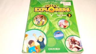 Inglés Great Explorers 3 OXFORD