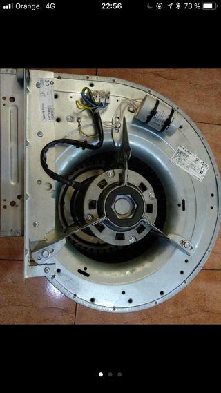 Motor extractor campana 10/10 turbina