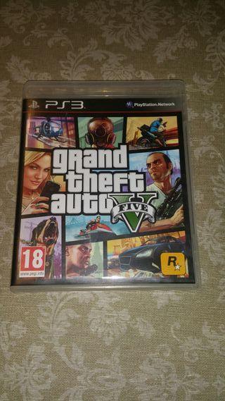 Juego ps3 Grand Theft Auto V