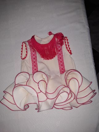 Traje flamenca bebe