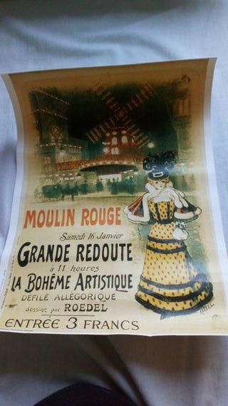 panel moulin rouge ORIGINAL DE PARIS