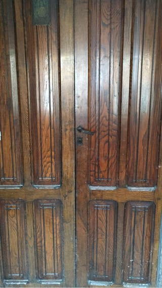 Puerta entrada antigua