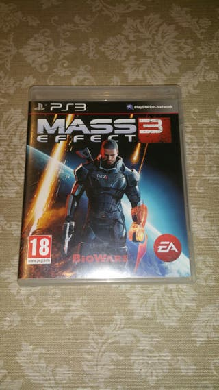 Juego ps3 Mass 3 Effect