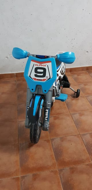 moto electrica Feber juguete