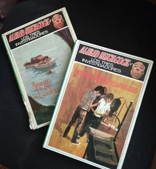 Lote libros Alfred Hitchock antiguos