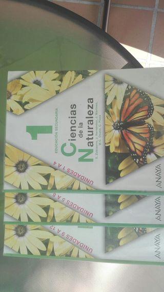 Libro ciencias naturales 1°ESO