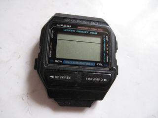 reloj casio data bank 80 1475 db 81